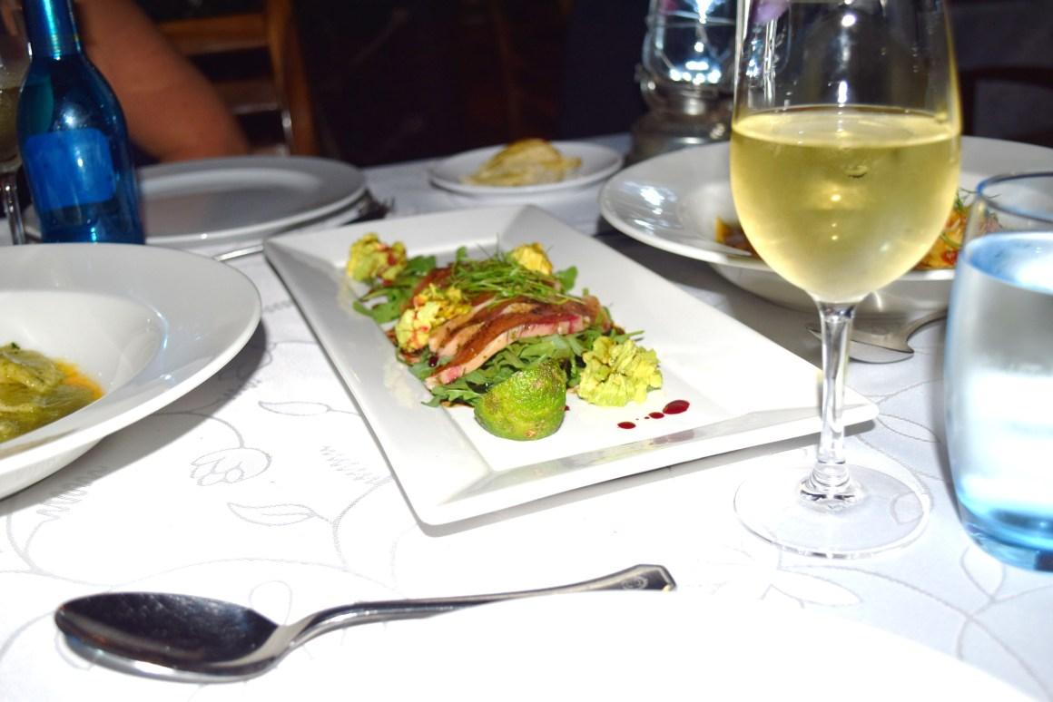 Dining in Kampala
