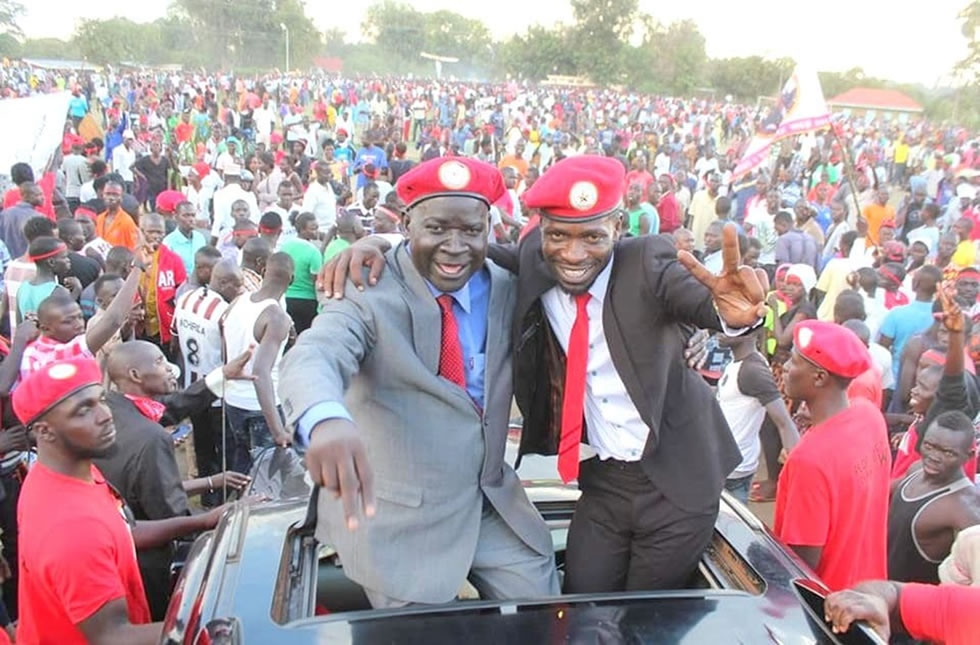 Kyagulanyi in Arua