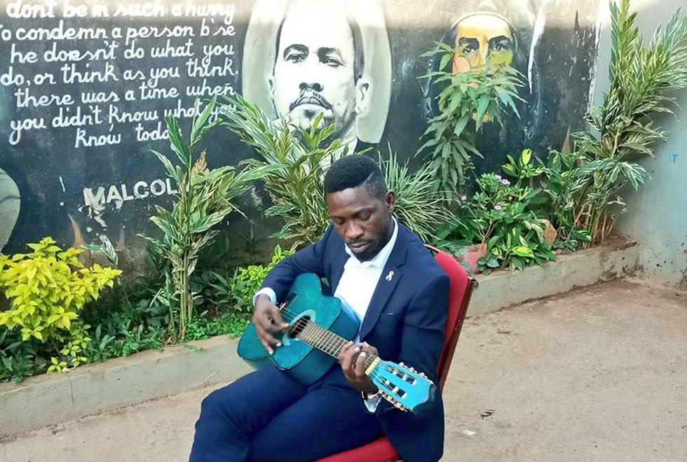 Kyagulanyi Ssentamu aka Bobi Wine