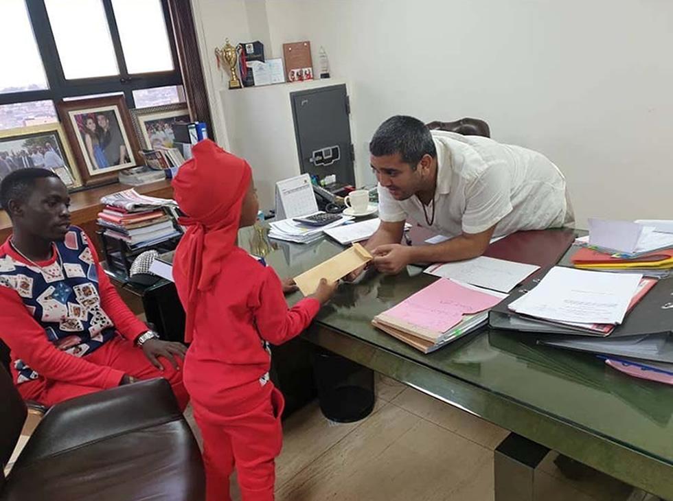 Rajiv and Fresh Kid