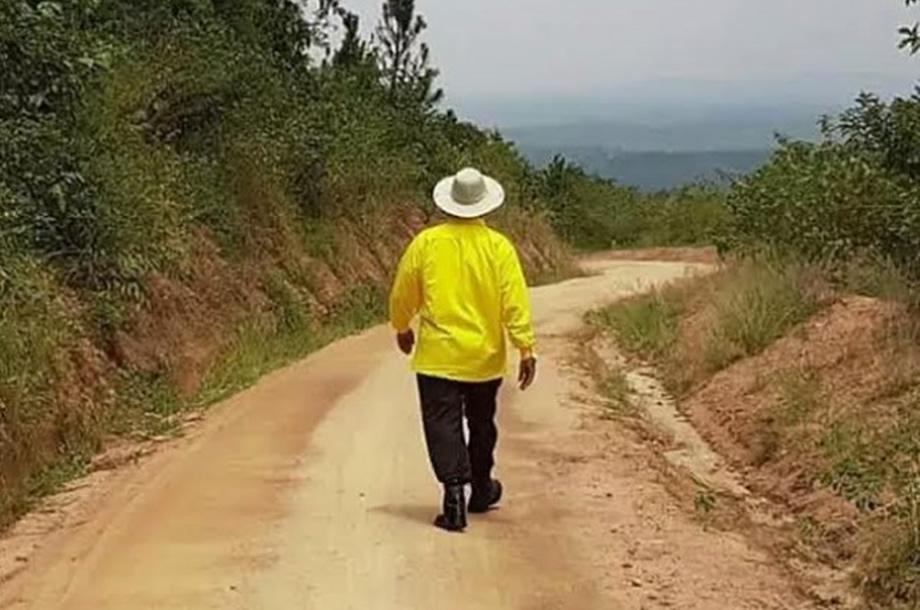 Museveni the Farmer