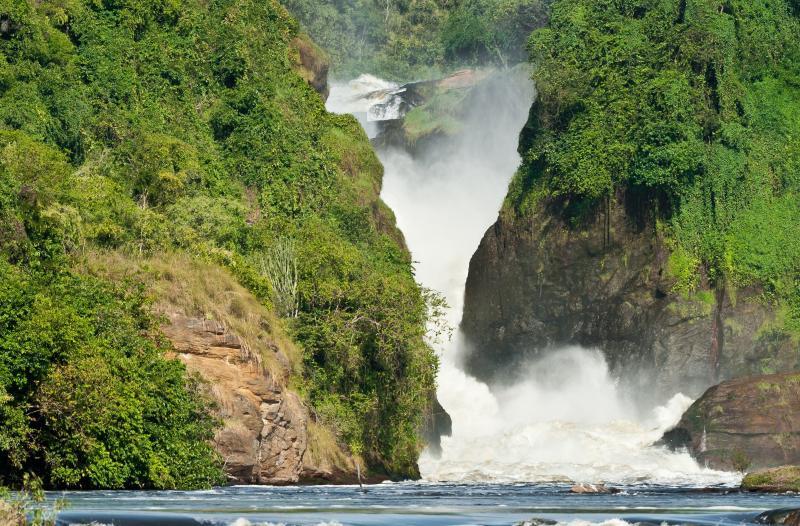 The Nile River in Uganda