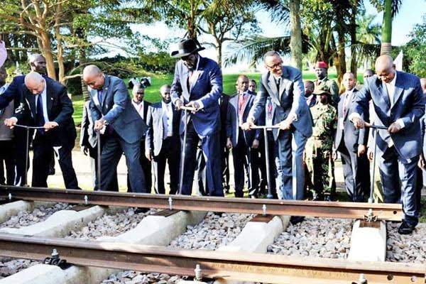East African Presidents Launch Railway Project