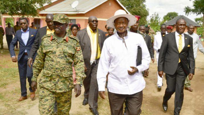 Museveni and Elwelu
