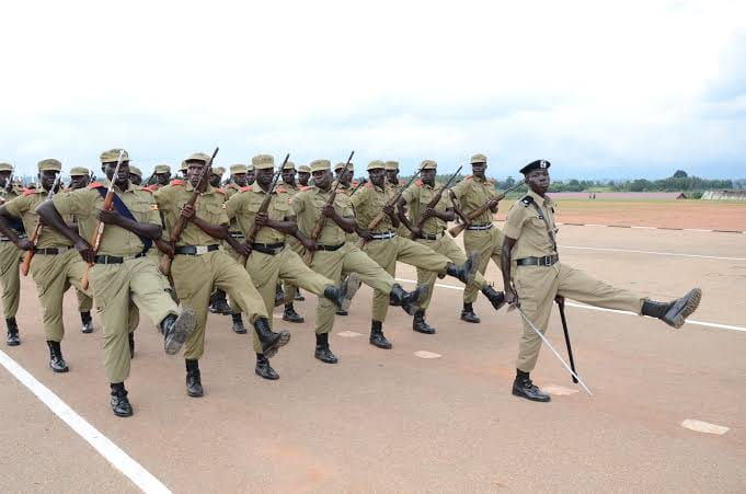 Uganda Police Officers