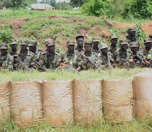 UPDF soldiers