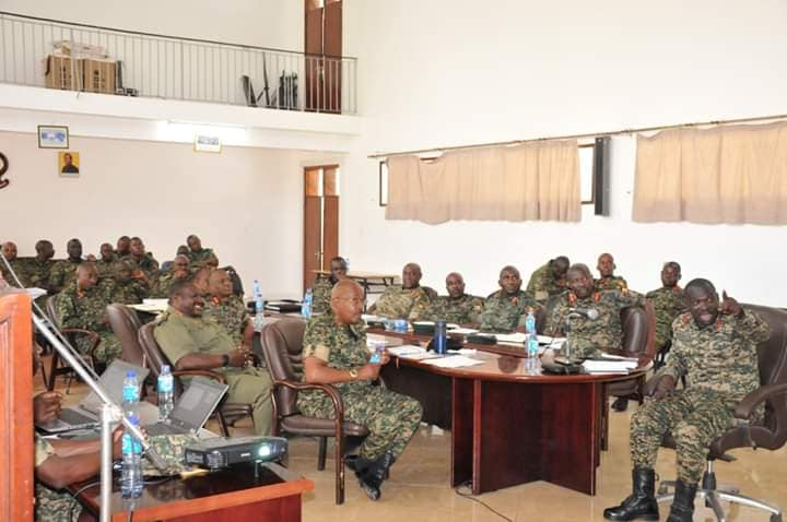 Lt. Gen Elwelu in Army Meeting
