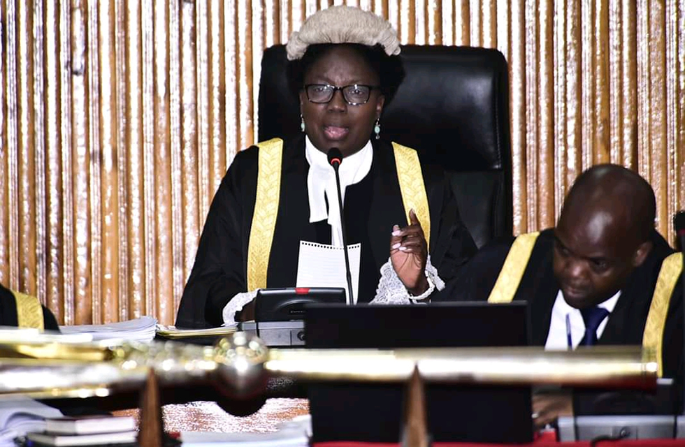 Kadaga Chairing the Parliamentary Seating