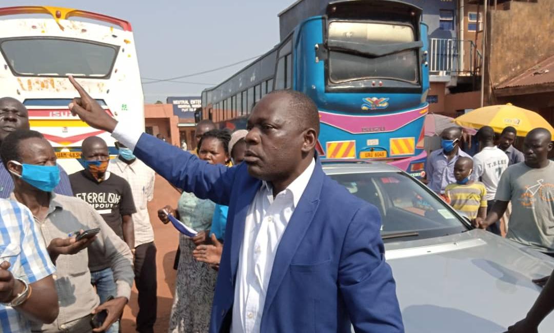 Passengers Stranded in Gulu