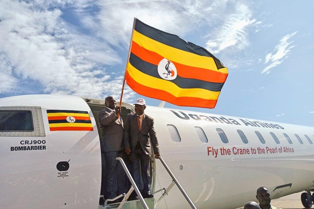 Uganda Airlines Repatriation Flight