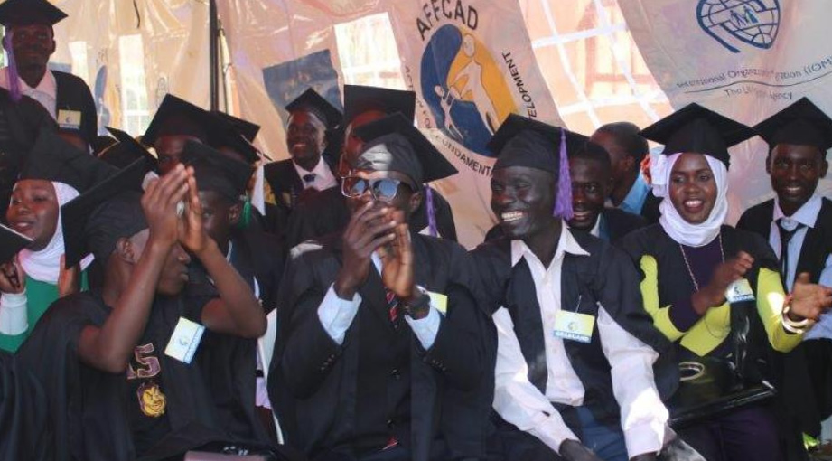 Ugandan Graduands